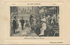 POSTCARD / CARTE POSTALE PARIS AU BON MARCHE GALERIE DES TAPIS D'ORIENT