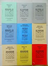 9X TRENDS CHESS BOOKS/IN THE. KINGS ATTACK/SCOTCH/RETI/SEMI-SLAV/PETROFF/ITALIAN