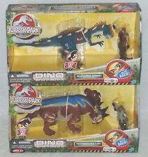 JURASSIC PARK Dino Showdown ToyRUS PACHYRHINOSAURUS CLASH and ALLOSAURUS ASSAULT