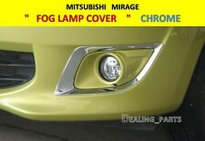 FOG LAMP COVER CHROME FOR MITSUBISHI MIRAGE 2012-2015