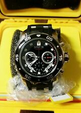 Invicta 48mm Pro Diver Scuba 21927 Chronograph Polyurethane Strap Watch w/ One-