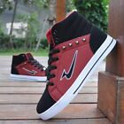 New Fashion Mens Sneaker Casual Board falts Suede High-top ankle boot Shoes N35