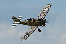 Giant 1/6 Scale German WW-I Junkers CL-1 Monoplane Plans and  Templates