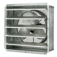 "EXHAUST FAN Commercial - Direct Drive - 20"" - 1/4 Hp - TEAO Enclosed Motor"