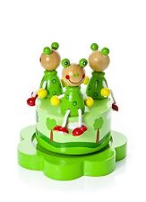 Children's Little Frog Music Box Ideal Baby Shower or Christening Gift Baby Boy