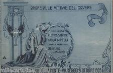VIAREGGIO  24 OTTOBRE 1909 - I ANNIVERSARIO INCIDENTE DI MARINA