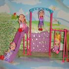 1/6 Playground Slide Climber Swing Toys Accessories for Barbie Kelly Dolls