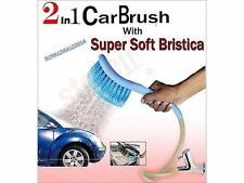 2 in1 Cleaning & Spraying Technology, Car Cleaning WASH Brush with Water Spray