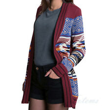 New Urban Outfitters Multicolour Aztec Pattern Open Cardigan Medium 8 10 12 14