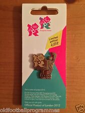 *OLYMPIC TORCH RELAY (LEEDS) PIN BADGE (24.06.2012) (OFFICIAL PRODUCT)*