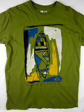 Rip Curl Surf soft short sleeve t shirt men's green size XL