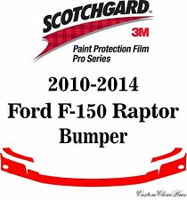 3M Scotchgard Paint Protection Film Pro Series 2012 2013 2014 Ford F-150 Raptor
