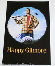 ADAM SANDLER SIGNED AUTHENTIC 12X18 'HAPPY GILMORE' MOVIE POSTER PHOTO w/COA