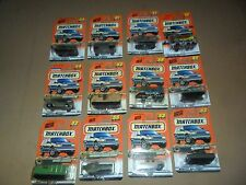 12 LOT Matchbox Military Series Tanks + # 10 51 52 53 54 55 69 81 82 83 84 85