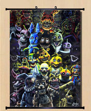 Home Decor Poster Anime Game Five Nights at Freddy's Cool Wall Scroll 30*45cm