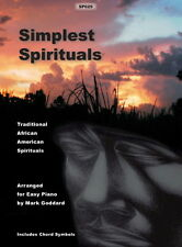 Simplest Spirituals for Piano arr Mark Goddard SP629