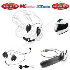 CELLULAR LINE AURICOLARI PRO SOUND SCHUBERTH ideale per C3 INTERPHONE F3 MC