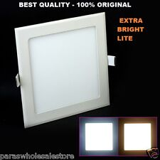 18 Watt LED Square Ceiling/POP/False Ceiling Panel Light Roof - 1 year Warranty