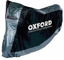 OXFORD Funda cubre moto universal para motocicletas con guarda cascos XL CV11