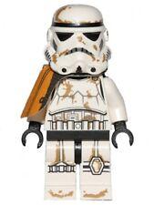 LEGO STAR WARS - Stormtrooper (Tatooine) with Orange Pauldron - Mini Figure