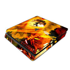 Skin Decal Cover Sticker for Sony PS4 Slim - Naruto Shippuden 2