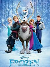 Disney Frozen ( English , DVD , Only Disc , New Condition )