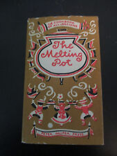 VINTAGE 1950's THE MELTING POT COOKBOOK of all NATIONS~PETER PAUPER PRESS HC/DJ