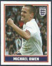 MERLIN-ENGLAND 2006 WORLD CUP- #007-ENGLAND/NEWCASTLE-REAL MADRID-MICHAEL OWEN
