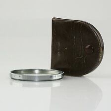 67mm ZEISS IKON S67 UV 1X Lens Filter w/Case in VGC - FREE UK POST (AZ36)