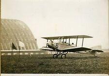 """""""L'avion CAUDRON piloté par FINAT"""" Photo originale G. DEVRED (Agence ROL) 1931"""