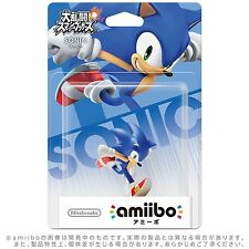 NEW Nintendo 3DS Wii U Amiibo Sonic Super Smash Brothers Japan Import F/S
