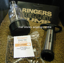 Ringers Pellet Pump + FREE 50gram Sample Pack of Ringers Next Gen 6mm Pellets
