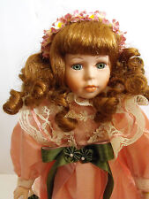 Leonardo collection porcelain doll ELIZABETH
