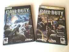 PACK x2 : CALL OF DUTY - JUEGO DEL AÑO Y LA GRAN OFENSIVA - EN CASTELLANO - PC