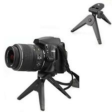 Folding Tripod Stand For Camera DV Camcorder Black MINI Portable Plastic