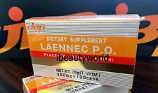 Japan JBP Laennec P.O. Supplement 350mg x 100 caps Made in Japan (Orange Box)