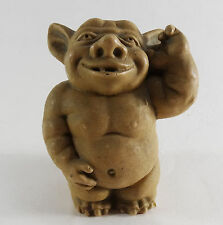 Toscano fantasy Gargoyle figurine figure tan cute scary monster