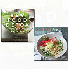 Anya Ladra Raw Food Detox Collection 2 Books Set Pack Health and Vitality NEW