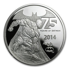 2014 Niue 2 oz Silver 75 Years of Batman Proof - SKU #85655