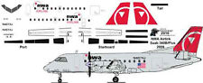 NWA Airlink Saab 340B decals for Welsh 1/144 kits
