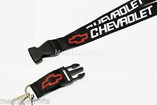 Chevrolet Lanyard NEW Black  - UK Seller - Car  Keyring ID Holder Phone Strap