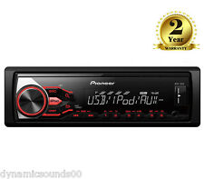 Pioneer MVH-180UI Single Din Car MP3 Stereo USB Aux Input iPod iPhone Android