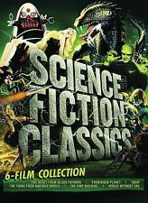Science Fiction Classics: 6-Film Collection (DVD, 2016, 6-Disc Set)