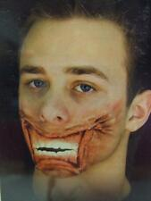 Woochie Latex Appliance ~ Stapled Mouth ~ Horror Make-up  ~ Halloween