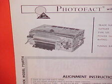 1965 BUICK SPECIAL SKYLARK GS GRAN SPORT CONVERTIBLE AM RADIO SERVICE MANUAL 65