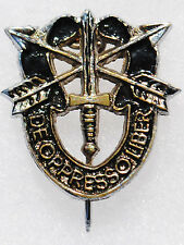 Rare Vintage Special Forces Pin Back Distinctive Insignia (DI)