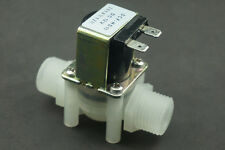 Electric Solenoid Valve Normally Closed Water Inlet Flow Switch DC12V0.02~0.8Mpa