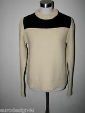 NWT AUTHENTIC CHLOE LONG SLEEVE COTTON BLD CREWNECK SWEATER sz S made in Italy