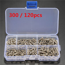 300 / 120pcs M3 Stainless Steel Button Head Hex Socket Cap Screw Assortment Kit