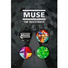 Muse - The Resistance 4 Piece Button Set